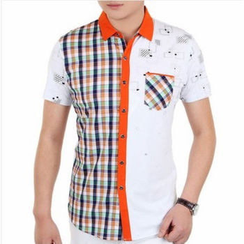 2015 Latest Designs Shirt Men Fashion Designer Shirts - Buy Men ...