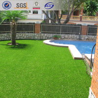 RQ-4-25, Chinese Landscape Artificial Grass, Artificial Grass Landscape
