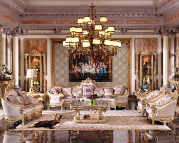 luxury living room furniture. Luxury French Baroque Bright Color Living Room Sofa Set/Royal Palace Hand Carved Fabric Furniture
