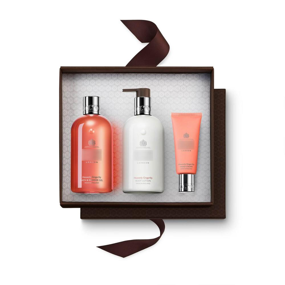 Bath & shower gel body lotion and hand cream festival gift pack