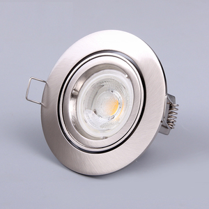 moveable 35W/50W/3W/5W/6W round dimmable led spotlight cob gu10 die casting recessed spot light