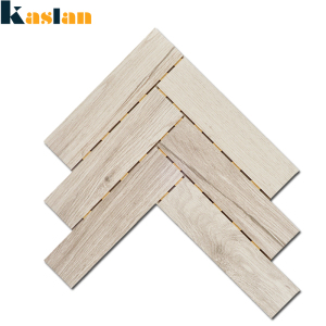 chinese factories new design herringbone mosaic patterns wood look ceramic mosaic tile for decoration
