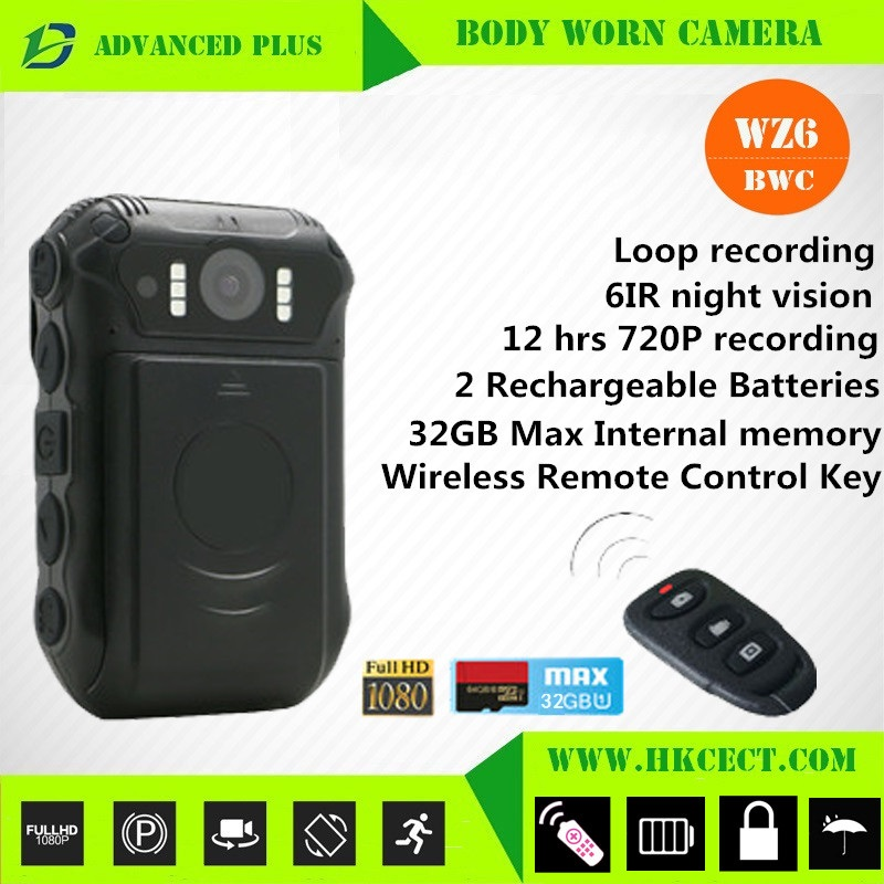 Body worn camera high quality low cost dvr cctv camera manufacturer safety camera