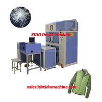 China XIDO Duck Down Fill Machine for Down Sleeping Bag