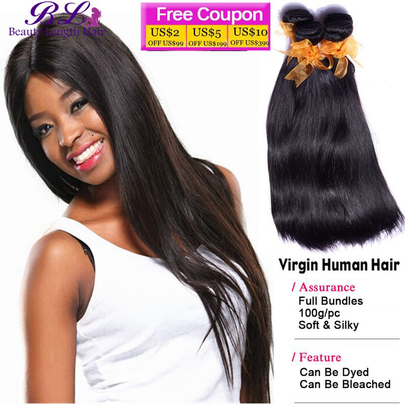 unprocessed 7A Brazilian straight hair 3 bundles ali cexxy hair cheap Brazilian 100 human human hair