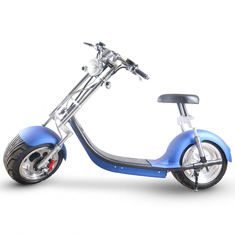 SC14 eec approving 2 wheel self balance 20 mph electric scooter motorcycle City coco electric scooter 2000w fat tyre, Black white blue red golden