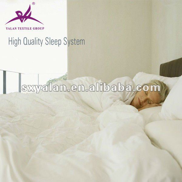 100% cotton hotel comforter and bedding