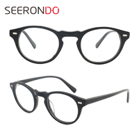 Factory Supply Stock 2018 New Style Acetate Eyeglass Frame For Man Woman