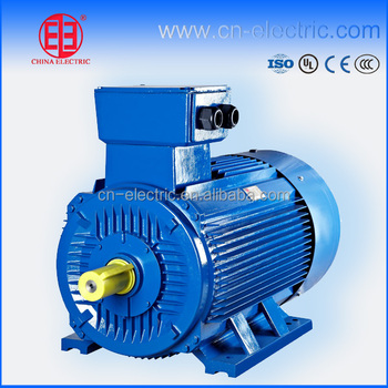 Ac Asynchronous Electric Motor For Extrusion Machine