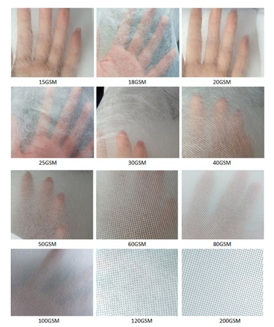 [Dokunmamış Fabrika] TNT nonwoven kumaş/PP torba malzeme/polipropilen bükülmüş bond Sigara dokuma kumaş