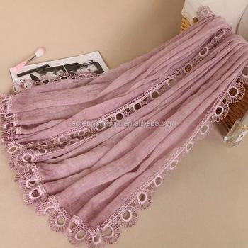 a802958bbb7c0 Amazon Hot Sale Women Fashion Lace Fringed New Design Hijab Scarves - Buy  Hijab With Roses,Muslim Hijab Girl,Muslim Flower Hijab Product on ...