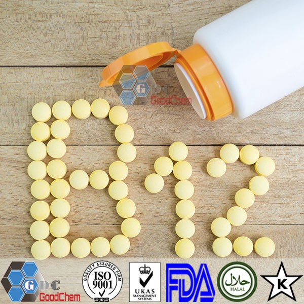 Vitamin B12 White Powder Supplement