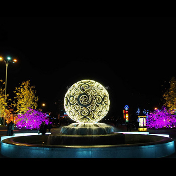 Christmas Ball Outdoor Decoration Beautiful Led Lights For Garden