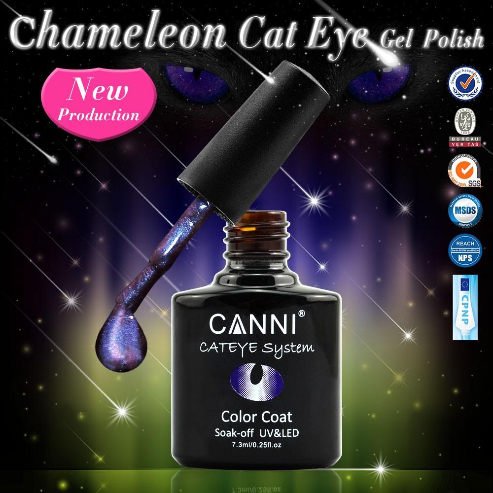 51024j 2018 Nuevo Canni Nail Art 7.3 Ml 12 Colores Metal Efecto ...