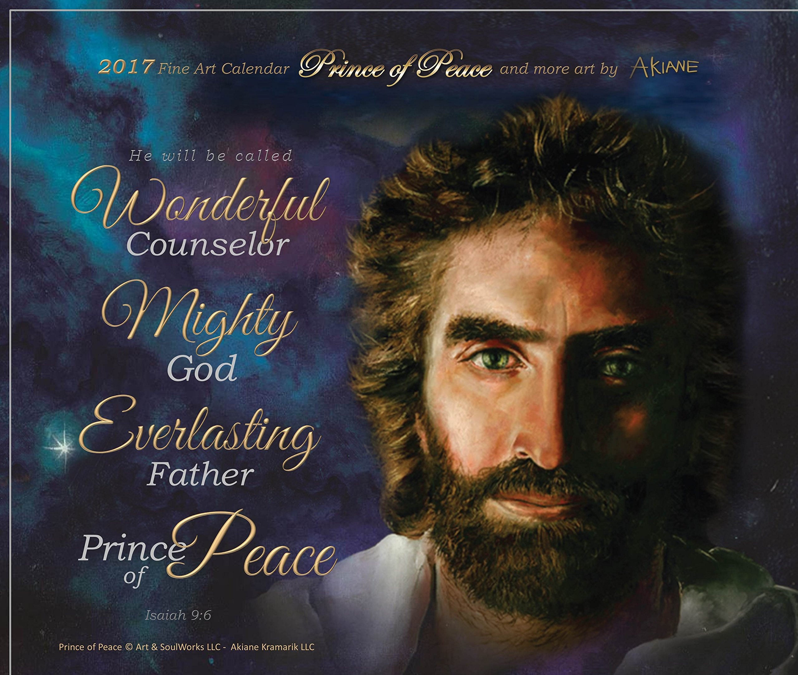 Prince of Peace 9 x 12 Fine Art Canvas Giclee