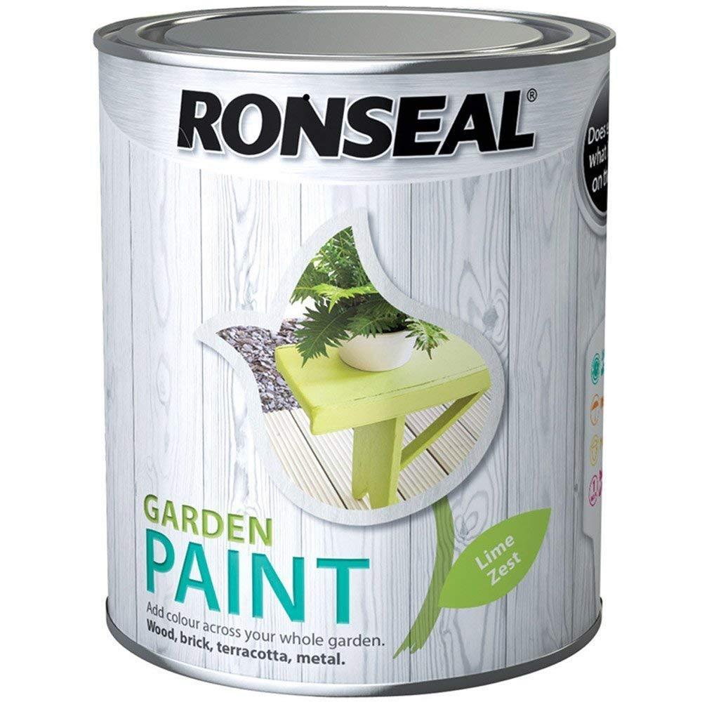 Ronseal Garden Paint 2.5l, Lime Zest