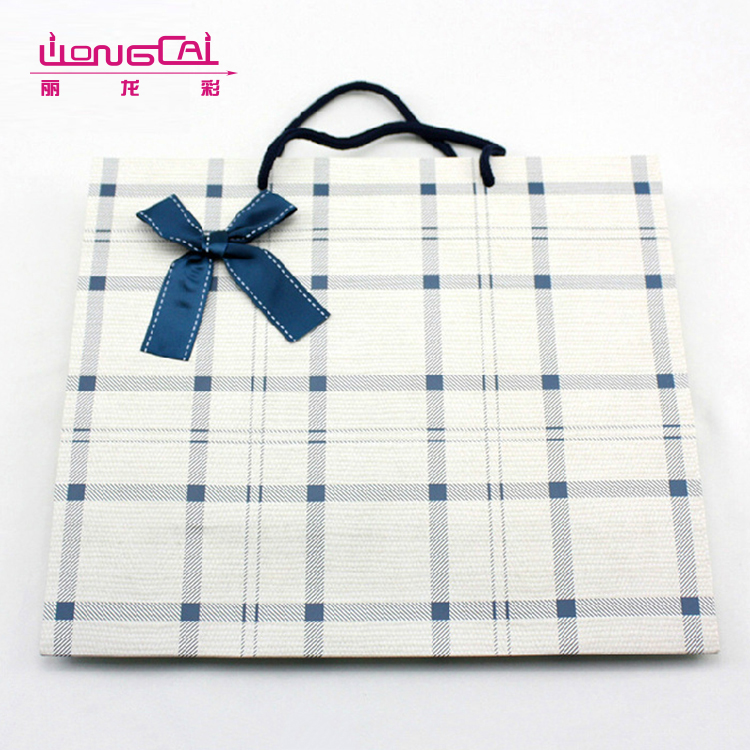 Free sample custom print logo high quality luxury jewelry paper bag