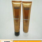 for Cosmetics Tubes Luxury Design Large Round Glossy Squeeze Tubes Packing Hand Lotion Plastic Cosmetic Cream Pe Tube