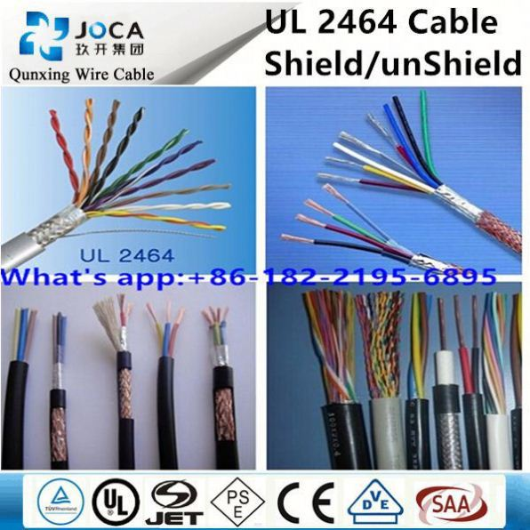 Awm 2464 22awgx4c Stranded Wire For Low Voltage Lighting Cable ...