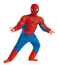 <span class=keywords><strong>Halloween</strong></span> niños <span class=keywords><strong>costome</strong></span> Cosplay Spiderman traje con músculos FC2253