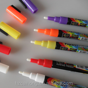 Highlighter White Fluorescent Liquid Chalk Ink Marker Pen for LED Writing Board CH-3200
