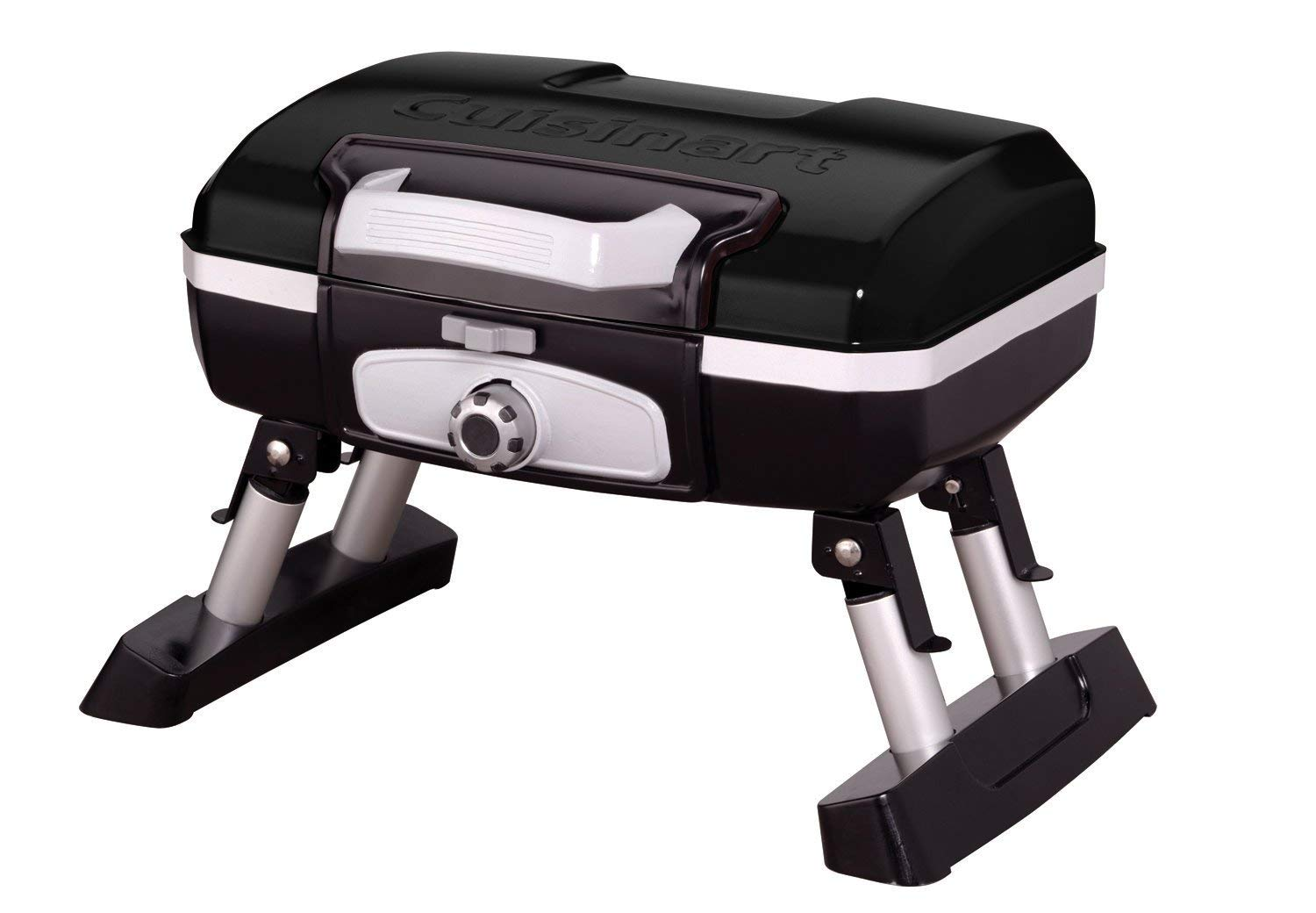 Gas - grill BBQ Pro Grill. This Petit Gourmet Tabletop Is Great Addition To Any Lawn, Backyard, Patio Or Gazebo. The Best Choice For Cooking Meat Steak On Outdoor Barbecue Or Grilling Party.