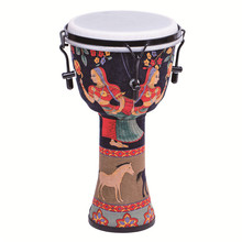 Wholesale 2019 new Hand Percussion Drum Djembe African music drums factory