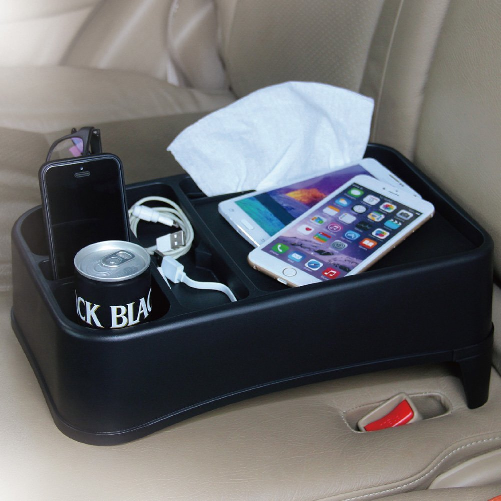 Get Quotations TIROL Travel Food Holder And Tray Car Seat Stand Organizer