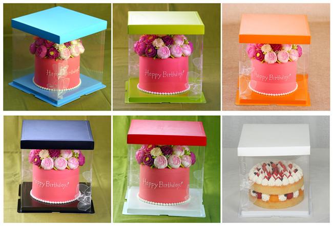 2018 Top Quality Paper Cake Box With Custom Design For Wedding Cake