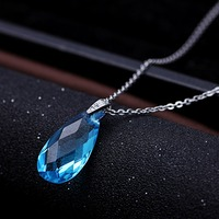 Chain jewellery crystal necklaces big pendant