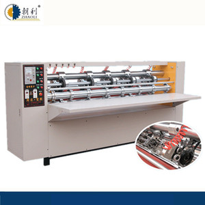 Corrugated Carton Packing Machine BFY series Thin blade Slitter and Scorer line type with lifting Function