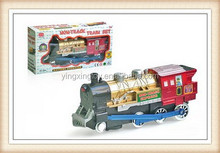 electric mini musical shunting model steam locomotive toy