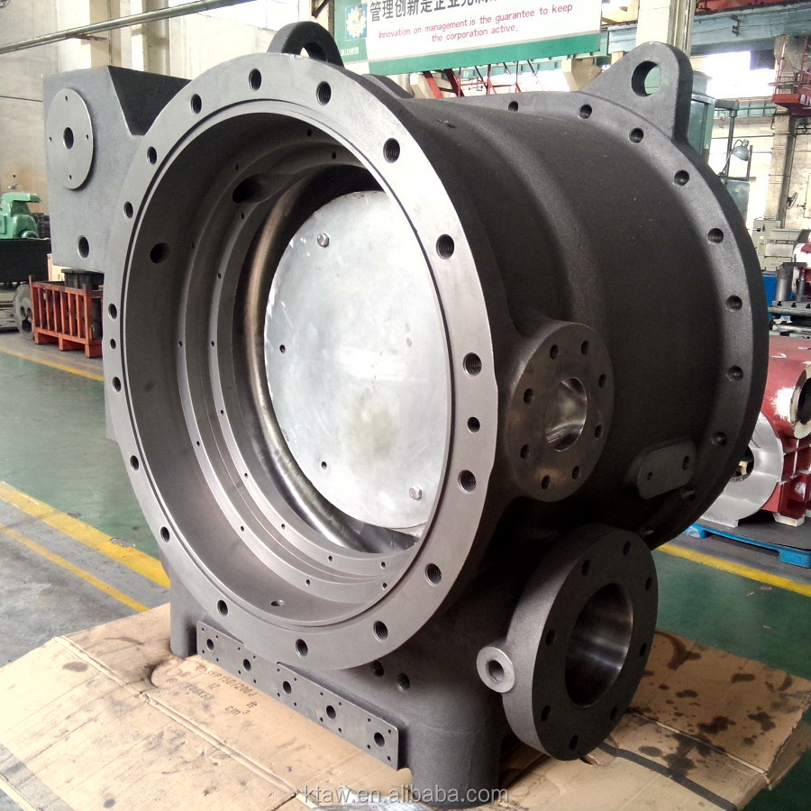 OEM Gray iron & ductile iron Casting /Compressor Cover