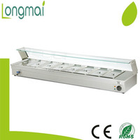 LBM-83 / restaurant supplies stainless steel commercial bain marie cooking equipment