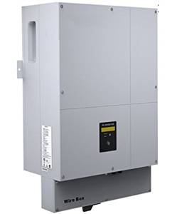 GOWE 8000W/8KW Two Phase DC AC grid tie solar inverter for US, with 1 MPPT, transformerless, waterproof IP65