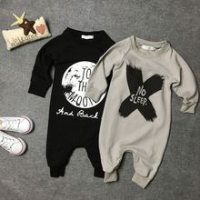 2016 Newborn Baby Clothes Babyworks One Pieces Baby Romper Infant Long Sleeve Jumpsuits Clothing Baby Rompers