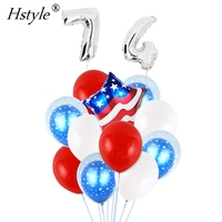 American Flag Balloon Decoration Set for National Day Independence Party Supplies - 4th of July SET704-4