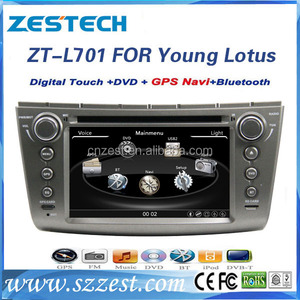 car dvd vcd cd mp3 mp4 player for Lotus L3 yong / Proton Gen 2 / Persona radio cd player dvd gps navigation stereo HD800MHZ
