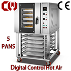 Commercial 5 trays heavy duty convection oven hot air bakery oven