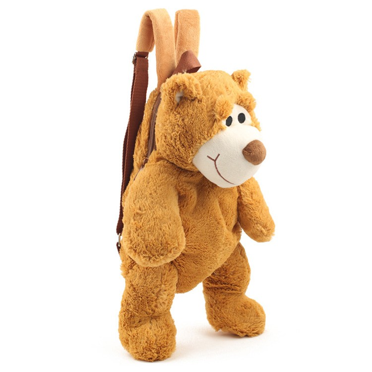 Hot Sale Brown Chicken Plush Backpack Bags