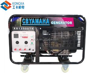 how to choose oil petrol and diesel generator with electric start 9kw