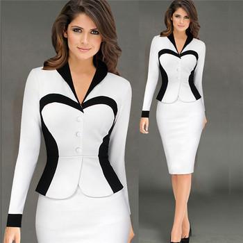 Vestidos de moda formal para mujer