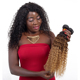 Alibaba express Brazilian curly hair wholesale Brazilian human hair extension Ombre curly hair weave ombre afro kinky curly