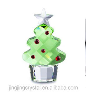 Newest Crystal Decoration Glass Christmas Tree