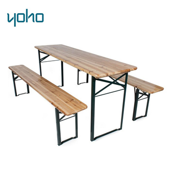 Remarkable Wooden Folding Beer Table And Benches Foldable Beer Table Bench Set Buy Wooden Beer Table Set Beer Table Set Folding Beer Table Product On Creativecarmelina Interior Chair Design Creativecarmelinacom