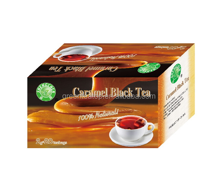 Chinese famous tea caramal black tea made in China 2g *20bags /box
