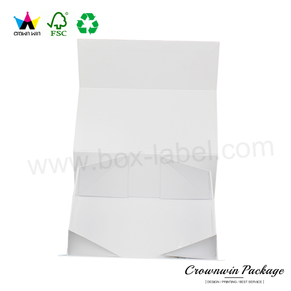 New rigid cardboard luxury clothing packaging box