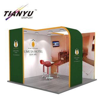 Modern 10X10 ft Design Modular Exhibition Booth Stand for Trade Show Event