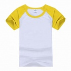120 Gsm Polyester Cotton Custom Curve Bottom Sublimation T Shirt Printing In China T-Shirt Boy