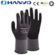 HANVO Top Grip Breathable Nitrile Dotted Safety Gloves